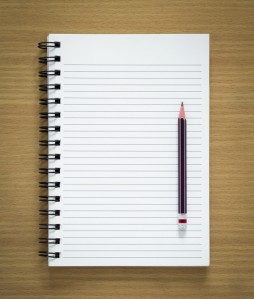 Blank Writer's Page